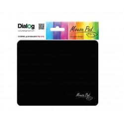 Коврик для мыши Dialog PM-H15 Mouse тканевый (220х180х4) Black
