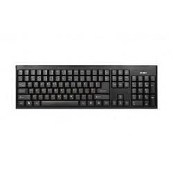 Клавиатура USB+PS/2 Sven Standard 303 Power мембранная, 104 клавиши, Black