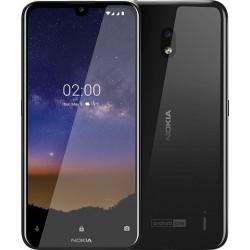 "Смартфон Nokia 2.2 16Gb Black 2sim/5.71""/1520*720/4*2.0ГГц/2Gb/16Gb/mSD/13Мп/Bt/WiFi/GPS/And9/3000mAh"