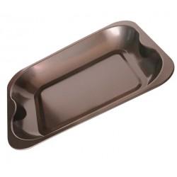 Противень Bekker BK-6652 угл.сталь,прямоугольный,33*26*4,5см, корпус 0,4мм, антиприг. покрытие Goldflon