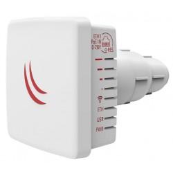 Точка доступа MikroTik LDF 5 ac with 9dBi integrated 5GHz antenna, Dual Chain 802.11ac wireless, 716MHz CPU, 256MB RAM, 1x Gigabit LAN, outdoor case, GPOE, PSU
