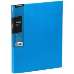 """Папка с пружинным скоросшивателем BERLINGO """"Color Zone"""", 17мм, 600мкм, синяя (AHp 00602)"""