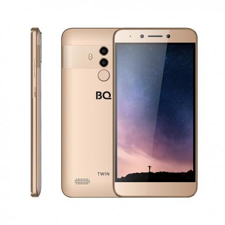 "Смартфон BQ BQ-5516L Twin Gold 2sim/5.5""/1920*1080/8*1.5ГГц/2Gb/16Gb/mSD/13Мп/Bt/WiFi/GPS/And8.1/3080mAh"