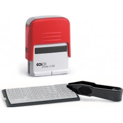 Штамп самонаборный 3стр. Colop Printer C20/3 SET, 1 касса, 14*38мм