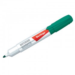 Маркер для доски BERLINGO зеленый (PM6211)