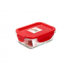 Контейнер Oursson CG0402S/RD (Красный), 0,37 л.,термостойкое стекло