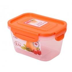 Контейнер Oursson CP0704S/OR 0,7л,пластиковый,герметичный,оранжевый