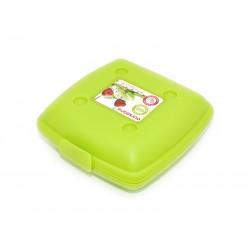 Ланч-бокс Oursson LB1400/GA (Зеленое яблоко),высококачественный пластик,можно греть в микроволновой печи и мыть в посудомоечной машине.