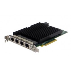 Silicom 10Gb PE310G4I40-T Quad Port Copper 10 Gigabit Ethernet PCI Express Server Adapter X8 Gen 3.0, Based on Intel X540, RoHS compliant