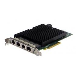 Silicom PE310G4I40-T Quad Port Copper 10 Gigabit Ethernet PCI Express Server Adapter X8 Gen 3.0, Based on Intel X540, RoHS compliant