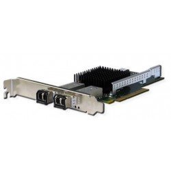 Silicom PE310G2I71-XR Dual Port SFP+ 10 Gigabit Ethernet PCI Express Server Adapter X8 Gen3 , Low Profile, Based on Intel X710-AM1, Support Direct Attached Copper cable (analog X710-DA2)