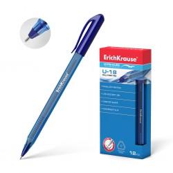 """Ручка шариковая Erich Krause """"U-18"""" 1мм., синяя (32534)"""