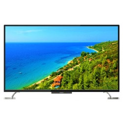 "Телевизор Polar P55U51T2CSM (55""/3840x2160/HDMI,USB/DVB-T2/WiFi/SmartTV/And/ Черный UHD 4K)"