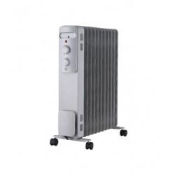 Масляный радиатор Midea MOH 3003 Silver 2300Вт, 25кв.м, 11 секций, регул. темп., термостат