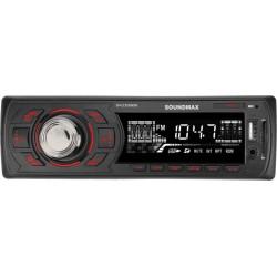 Автомагнитола Soundmax SM-CCR3060FB 1DIN, 4x45Вт, MP3, FM, SD, USB, AUX