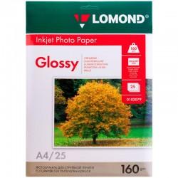 Бумага Lomond 160 г/м2, А4, глянцевая, 50л. (0102055)