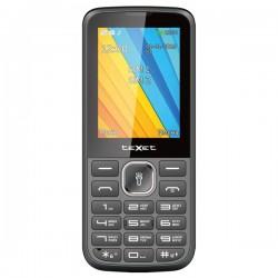 """Сотовый телефон Texet TM-213 Black 2 (sim/2.4""""/240*320/-/microSD/0.08Мп/Bt/1000мАч)"""