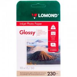 Бумага Lomond 230 г/м2, 10x15, глянцевая, 50л. (0102035)