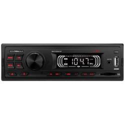 Автомагнитола Soundmax SM-CCR3072F 1DIN, 4x45Вт, MP3, FM, SD, USB, AUX
