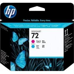 Головка печатающая HP C9383A (72) для DesignJet T610/ T1100, Magenta+Cyan