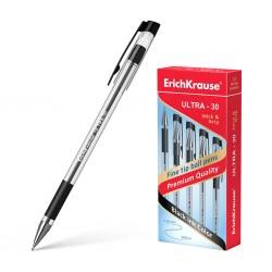 "Ручка шариковая Erich Krause ""Ultra L-30 Grip"" 0,7мм., черная (19614)"