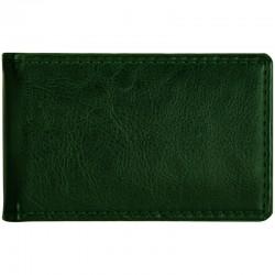 "Визитница OfficeSpace на 24 визитницы ""Nebraska"" 112*69мм, карманная кожзам, зеленый (268395)"