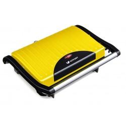 Бутербродница Kitfort КТ-1609-2 Yellow 640Вт, антипригарное покрытие, защита от перегрева