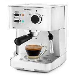 Кофеварка Kitfort КТ-722 Silver (1050Вт,1.5л,15 бар,рожковая,тип кофе: молотый)