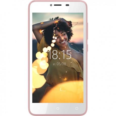 """Смартфон BQ BQ-5000G Velvet Easy Rose Gold 2sim/5""""/480*854/4*1.3ГГц/512Mb/8Gb/mSD/5Мп/Bt/WiFi/GPS/And/2150mAh"""