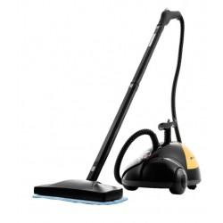 Пароочиститель Kitfort КТ-931 Black/yyellow 1500Вт, емкость бака 1500мл, 3.5бар, макс. подача пара 37г/мин