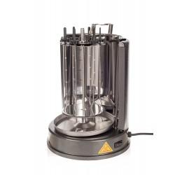 Шашлычница электрическая Kitfort КТ-1404 Silver 1400Вт, 7 шампуров