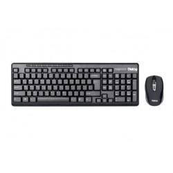 Комплект (клавиатура+мышь) Dialog Pointer KMROP-4020U радиус действия 10м,Black беспроводной