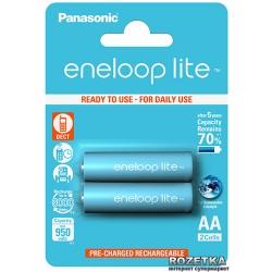 Аккумулятор Ni-MH AA Panasonic eneloop lite BK-3LCCE 950mAh/1.2в, низкий саморазряд