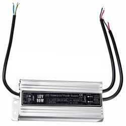 Блок питания Rexant 200-050-2/12в, 4.5А, 154(178)х69х44мм, IP67, LED