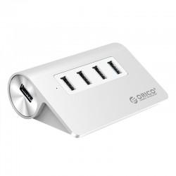 USB Хаб 4xUSB 3.0 ORICO M3H4-V1-SV Silver