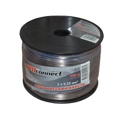Кабель акустический 2х0.25мм BlueLine 100м. бухта ProConnect 01-6201-6