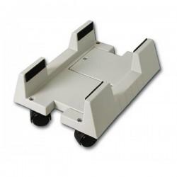 Подставка под системный блок BURO (BU-CS3AL) (пластмассовая,на колёсиках,регулировка по ширине)