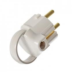 Вилка электрическая Proconnect 11-8504/16A з/к угловая с кольцом