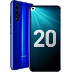 "Смартфон Huawei Honor 20 Blue 2sim/6.26""/2340*1080/2*2.6+2*1.92+4*1.8ГГц/6Gb/128Gb/mSD/48+16+2+2Мп/Bt/WiFi/GPS/And9.0/3750mAh"