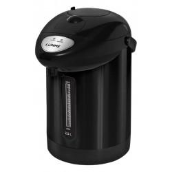 Термопот Lumme LU-3830 Black 750Вт, 2.5л, металл/пластик