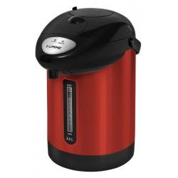 Термопот Lumme LU-3830 Red/silver 750Вт, 2.5л, металл/пластик