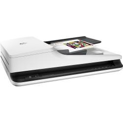 HP ScanJet Pro 2500 f1 (CIS, A4, 1200dpi, 24bit, USB 2.0, ADF 50 sheets, Duplex, 20 ppm/40 ipm, 1y warr, replace SJ 5590  (поврежденная коробка)