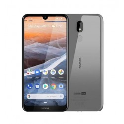 "Смартфон Nokia 3.2 2/16Gb Steel 2sim/6.26""/1520*720/4*2.0ГГц/2Gb/16Gb/mSD/13Мп/Bt/WiFi/GPS/And9/4000mAh"