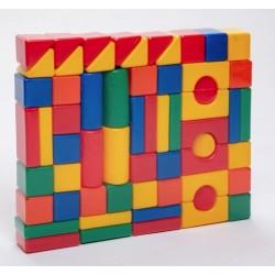 Строительный набор, 60 элементов 6 х 6 см (1207027)
