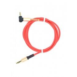 Кабель AUX INNOVATION M1-AUDIO L-образный, прямой, красный