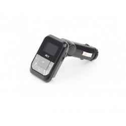 FM-Модулятор/трансмиттер ACV FMT-112 черный MicroSD USB PDU (18069)