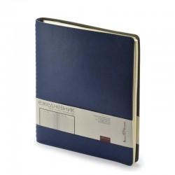 Ежедневник TINTORETTO NEW, B5, недат.,темно-синий, спираль, 3-512/02