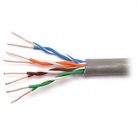 Витая пара 305m Cu NETLAN UTP 24 AWG 4 пары кат 5E EC-UU004-5E-PVC-GY