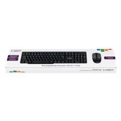 """Комплект (клавиатура+мышь) CBR KB SET 720W 2.4 ГГц,104 клавиши,конструкция """"скелетон"""" беспроводной"""