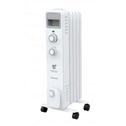Масляный радиатор Royal Clima Ferrara ROR-F5-1000M 1000Вт, 15кв.м, 5 секций, регул. темп., термостат